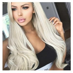 Blonde Beauty LaceFront Wig Wig 22-24inches